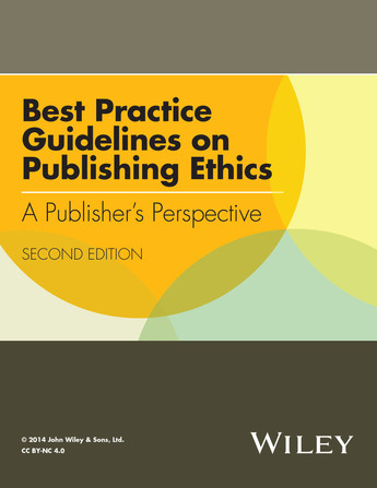 Guide to the ethics of publishing research