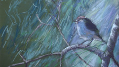 A different style - featuring pastel paintings by Jenny Grogan
