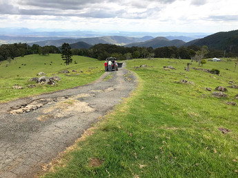 Pilot site visits in Lamington National Park!
