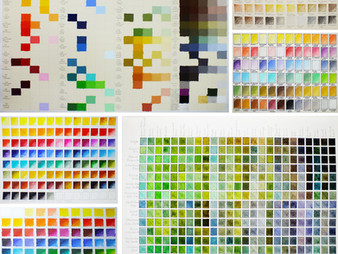 The virtues of making your own colour charts