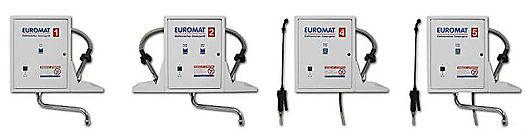 EUROMAT 1, ZEL-12-CPU, Melseptomat, Desomat, Descomat Kompakt Digital sind automatische Dosieranlagen für Desinfektions und Reinigungspräparate