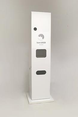 DesiApp-HyTower zur Desinfektion der Hän