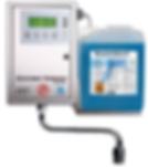 Descomat Kompakt Digital ist eine Dosieranlage für Desinfektions und Reinigungspräparate