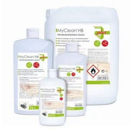 MYClean HB Plus - Händedesinfektionsmittel - viruzid