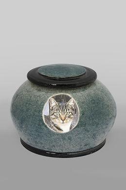 Pet Urn - Speckle Round Style