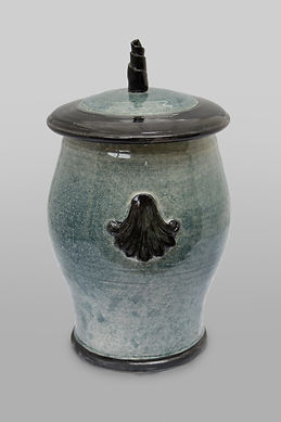 Pet Urn - Applique Classic Style