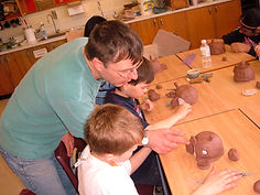Pottery workshops at school