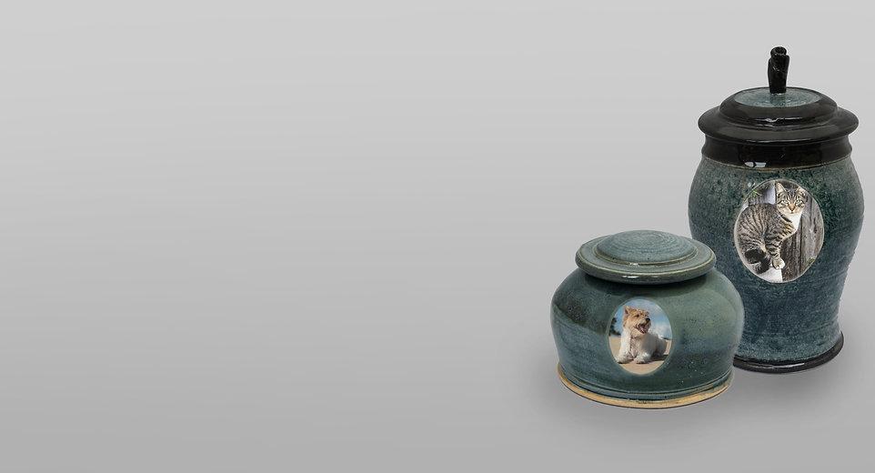 Pet Funeral Urns - samples