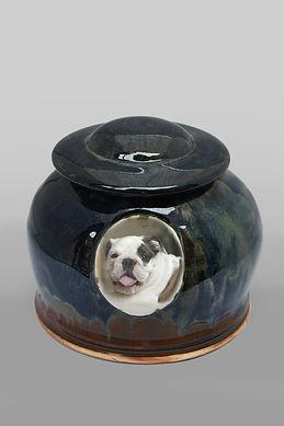 Pet Urn - Midnight Round Style