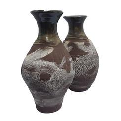 2 crackleware vases.jpg