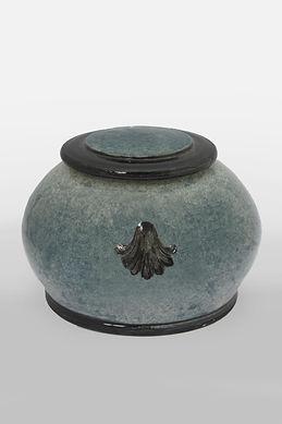 Pet Urn - Applique Round Style