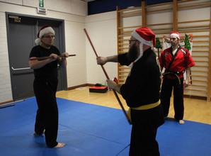 Kerstmuts training