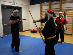 Kerstmuts training