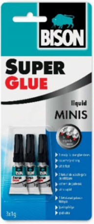Super Glue Liquid Minis 1g /3Pcs