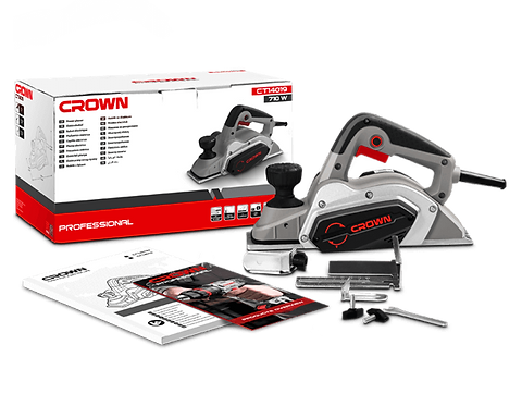 Crown Power Planer 710W - CT14019