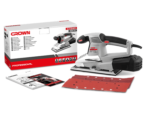 Crown Orbital Sander 320W - CT13401