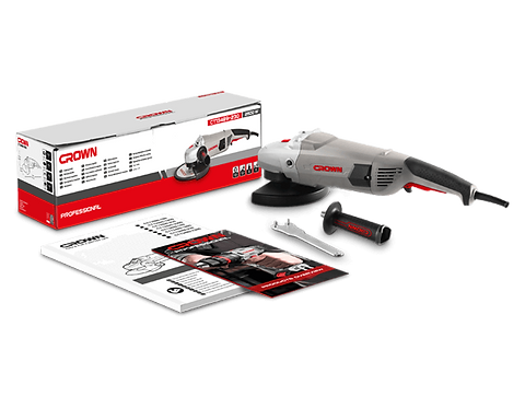 """Crown Angle Grinder 2600W 9"""" - CT13489-230"""