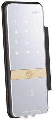 ييل YDG313 قفل رقمي للأبواب الزجاجية