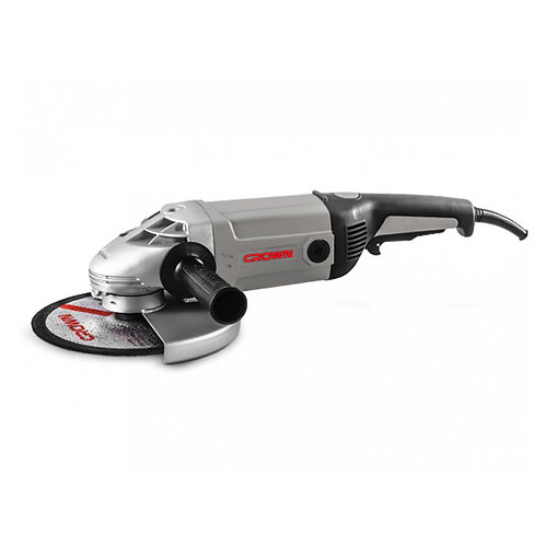 "Crown Angle Grinder 2200W 9"" - CT13070"