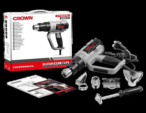 Crown Hot Air Gun 2000W - CT19023K