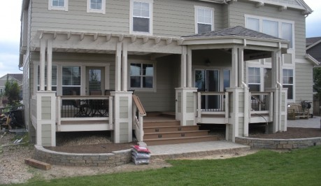 Custom Deck and Patio Cover