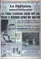 """LE PARISIEN LIBERE """"Drame évité par miracle à Orly, un car de CRS roulait sur la piste où décollait un Boeing. Le pilote parvient à éviter la catastrophe."""""""