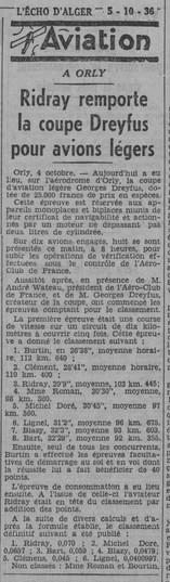 05/10/36 L'Echo d'Alger