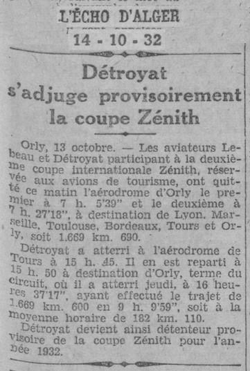 14/10/32 L'Echo d'Alger