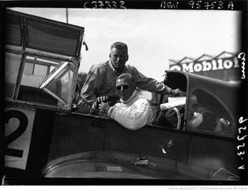 Orly : circuit européen des avions de tourisme : Cuno (portrait à 4 m) : [photographie de presse] / Agence Meurisse 1932