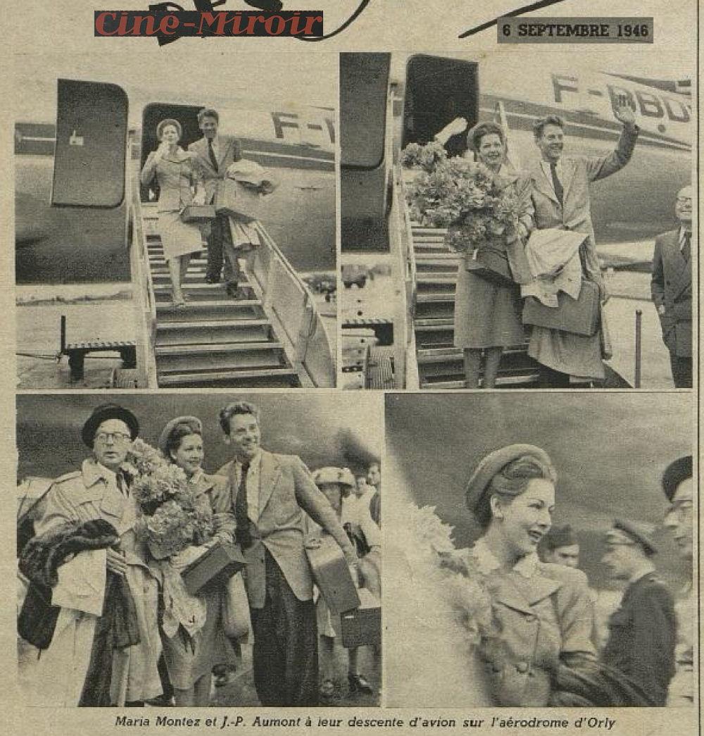 1946 - 06 septembre - Maria Montez JP Au