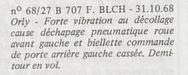 1968 - 31 octobre - incident 707 f-blch.