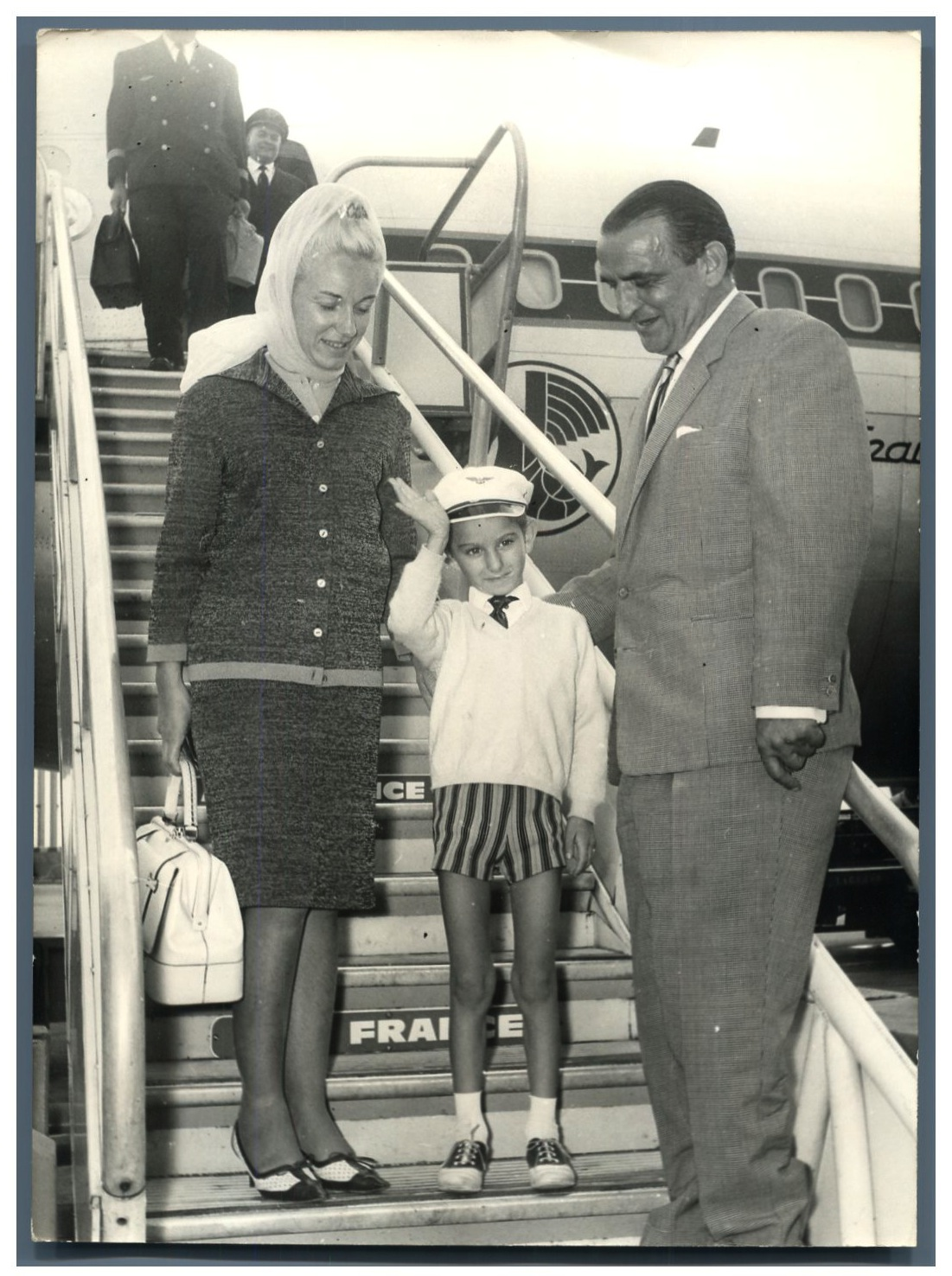 Yan Demaria - ses parents