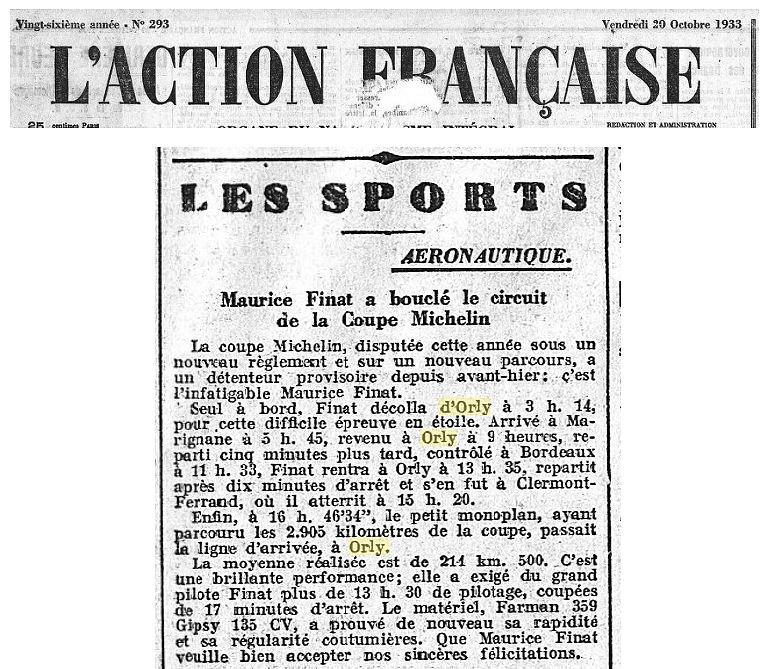 20/11/33 L'Action Francaise