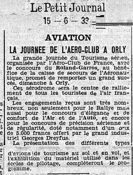 15/06/33 Le Petit Journal
