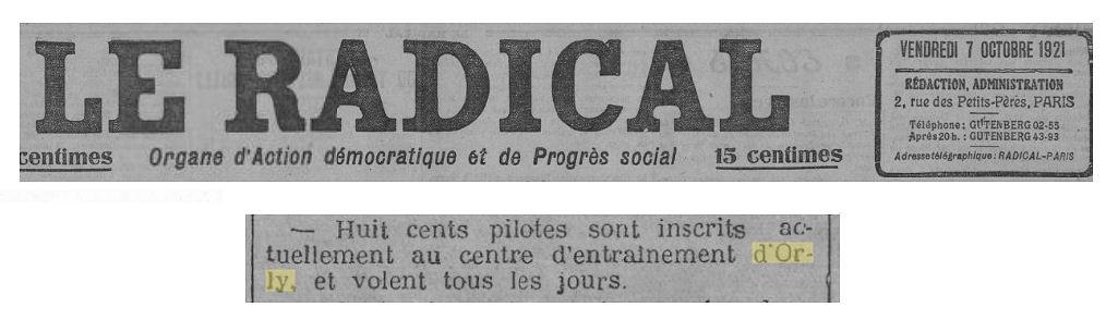 07/10/21 Le Radical