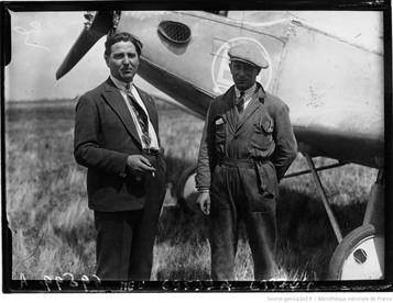 Orly : concours d'avions de tourisme : Laulbé et Coislard : [photographie de presse] / Agence Meurisse 1929