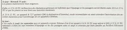 1983 - 01 septembre - retour otage f-bpj
