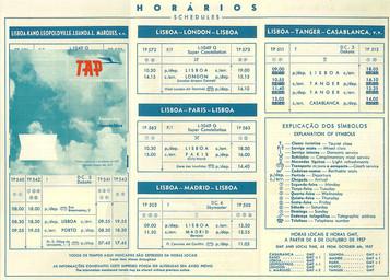 TAP Air Portugal à partir du 06 octobre 1957