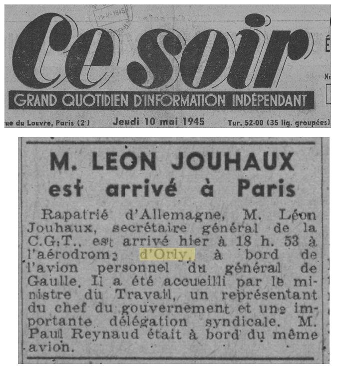 1945 - 10 mai - Jouhaux