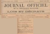 06/07/29 - Journal Officiel