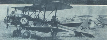 "Letec magazine, volume V, issue 9, page 484, September1929 Aircraft Aero A.34 with Walter Vega engine in the contest ""Challenge International de Tourisme"", 1929. Behind: BFW M.23b and two DH 60G Gipsy Moth."