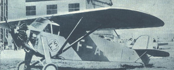 "Letec magazine, volume V, issue 9, page 484, September1929 The Potez 36 aircraft taking part in the ""Challenge International de Tourisme"", 1929."
