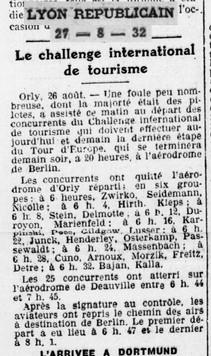 27/08/32 Lyon Republicain