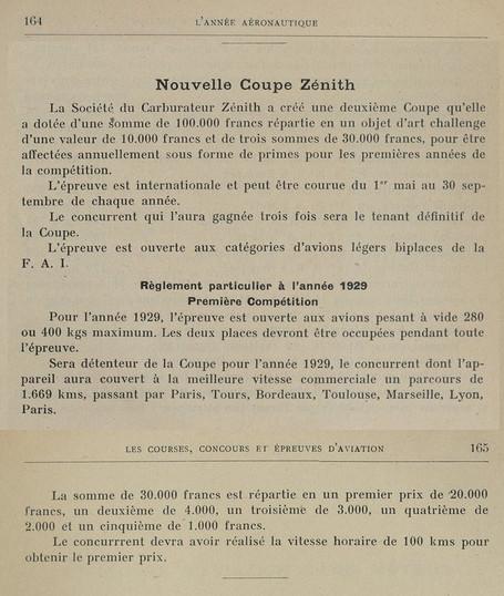 1929 - L'Année Aéronautique