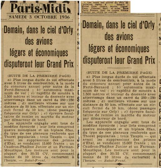 03/10/36 Paris Midi
