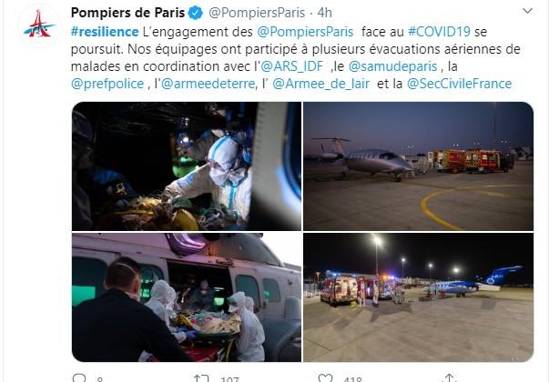 01/04/20 © Pompiers de Paris