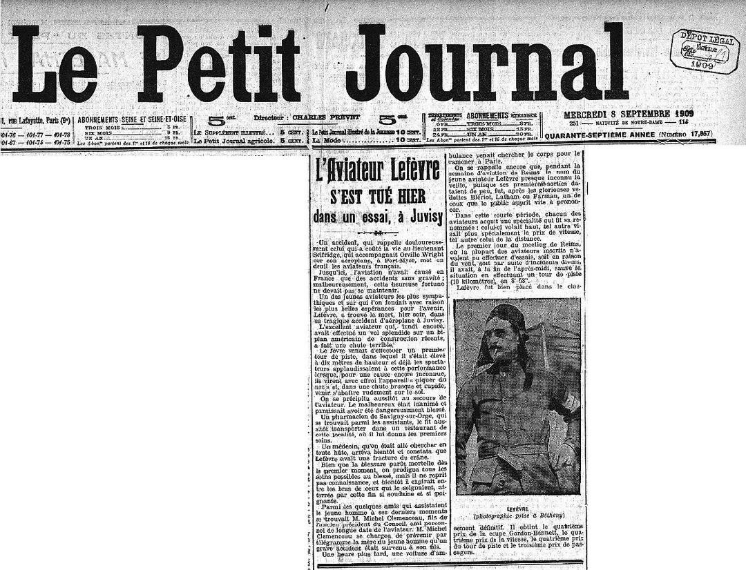 08/09/09 - Le Petit Journal