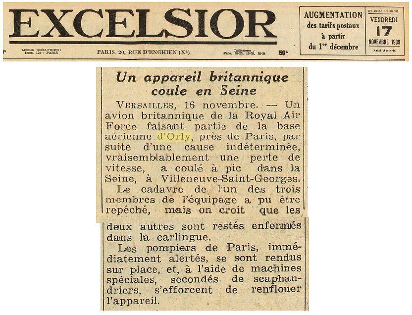 17/11/39 Excelsior