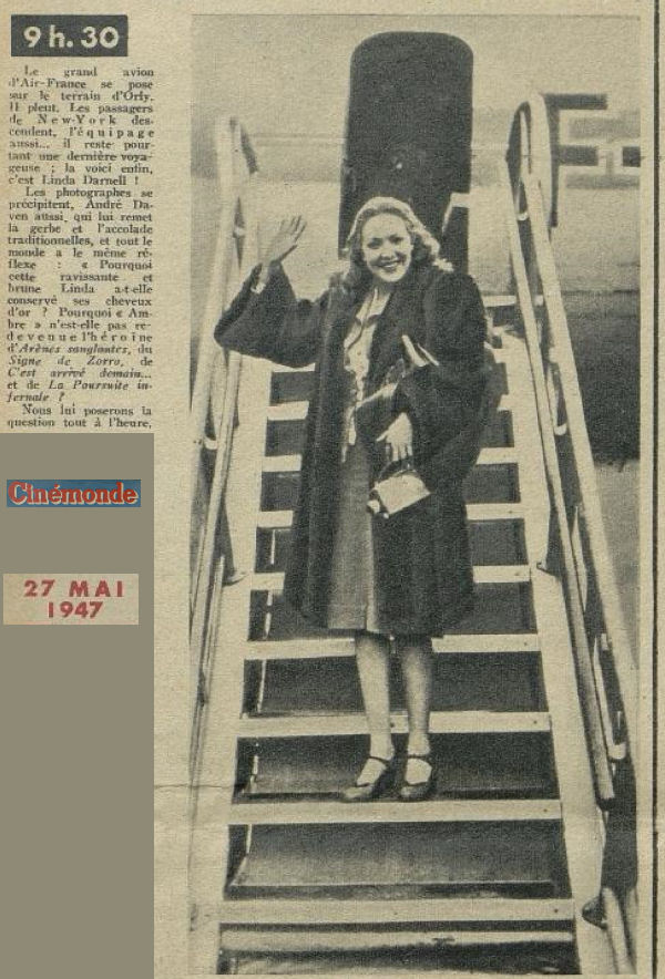 1947 - 27 mai - Linda Darnell