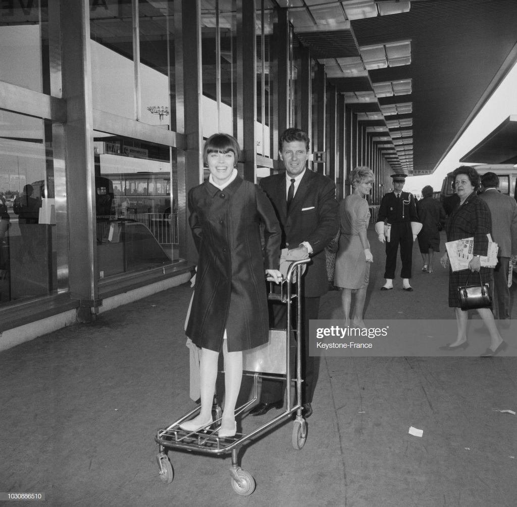 Mireille Mathieu - Robert Stack - 1966 (
